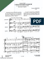 O Magnum Mysterium - Francis Poulenc