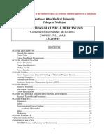 ACM Syllabus 18-19
