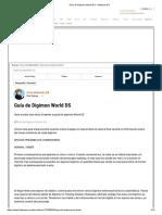 Guía de Digimon World DS - Nintendo DS