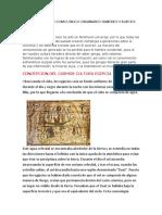 La Concepción Del Cosmos en Los Originarios Sumerios y Egipciosssss