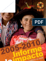 Informe de impacto 2005-2010