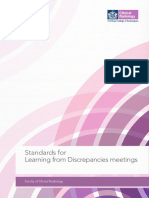 BFCR(14)11 Standards for Learning From Discrepancies Meetings