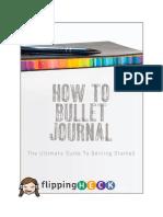 Bullet Journal Basics v1