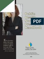 Public Health Nursing Preceptor Handbook