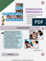 Estrategias Sanitarias II