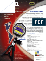 BetaGauge PI PRO - Pressure Calibration Gauge NUEVO