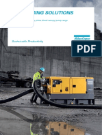 Centrifugal Diesel Driven Dewatering Pumps With Canopy