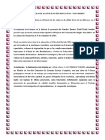 Reseña Histórica de Ie San Isidro