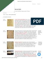 Historical Quranic Manuscripts - Madain Project (en)