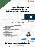 Tecnicas Para La Recoleccion de Informacion