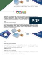 Caracterizacion de La Empresa HSEQ