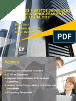 CCPA Costos y Gastos Deducibles 2018