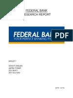 Final financial report