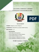 Nota de Agente (Perú)