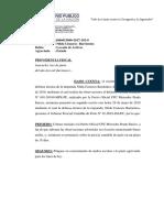 Caso 027-2018 Providencia Fiscal Sn (Declaracion en La Ciudad de Lima)