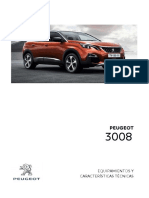Ficha Tecnica Peugeot 3008