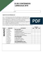 RED DE CONTENIDOS 3° BÁSICOS