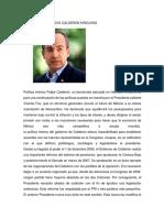 Felipe Calderonnn