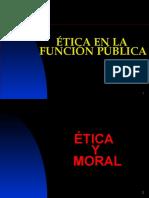 Etica Organismo Público