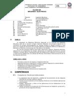 Sylabus de MAQUINAS ELECTRICAS _2019.doc