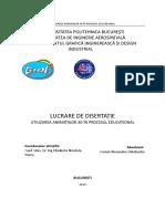 Template Disertatie 2019