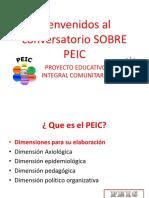 Bienvenidos Al Conversatorio SOBRE PEIC