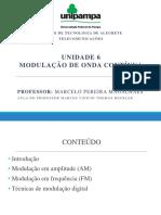 Undiade 6 - Modulação de Onda Contínua Pt.1