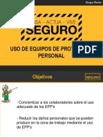 4.- Uso de EPPs