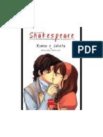 Coleção Shakespeare Em Quadrinhos - Romeu e Julieta_01