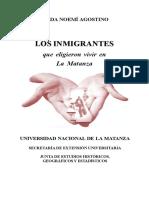 los inmigrantes en el partido de la matanza