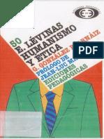 Gonzalez Arnaiz, G., Levinas. Humanismo y Etica,[Prolg. j. l. Marion], 2002