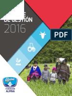 Informe Fundacion Alpina 2016