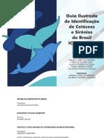 Guia Ilustrado de Identificacao de Cetaceos e Sirenios Do Brasil Icmbio Cma