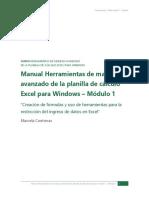 Módulo 1 - Manual Excel Avanzado
