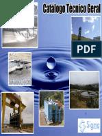 Catalogo Equipamentos para Tratamento de água e efluente