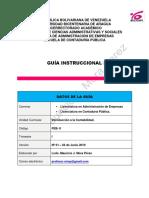 I UNIDAD Guia Instruccional Introduccion a La Contabilidad Trimestre.1 Lcdo Mauricio.mora