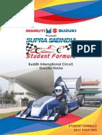 Supra Rule Book 2019