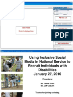 Social Media and Inclusion