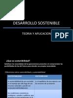 APLICACIONES DEL DESARROLLO SOSTENIBLE