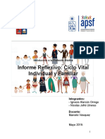 Informe Reflexivo Ciclo Vital.