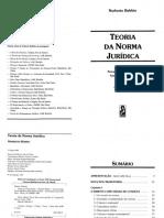 Teoria da norma juridica Norberto Bobb
