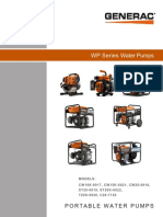 PUMP DIAGNOSTIC REPAIR MANUAL PW SERIES GENERAC
