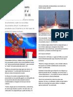 Putin Presenta Armamento Nuclear Que Hace