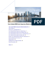 Cisco Catalyst 9400 Series Supervisor Module Installation Note