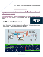 Design of SCADA for Remote Control and Operation of Wind Power Plants _ EEP