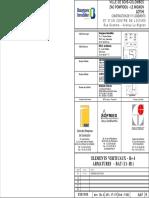 A65-00-BOIS COLOMBES-ZAC POMPIDOU-UEC- R+4 (BAT H1-I1) - Voiles _Armatures