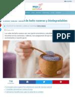 Cómo Hacer Sales de Baño Caseras y Biodegradables — Mejor Con Salud