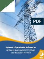 1.Gestión de Mantenimiento en Sistemas Eléctricos de Distribución - OMDEC Perú