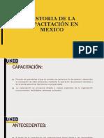 Historia de La Capacitación en Mexico