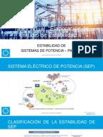 2. Inel - Estabilidad de Sistemas de Potencia II